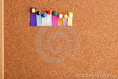 Cork board and heading for eight letter word