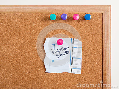 Cork Board Notes