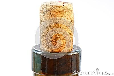 Cork in a bottle