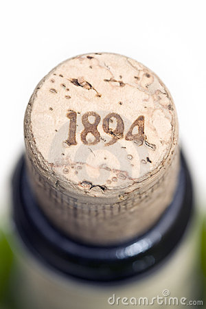 Cork with date