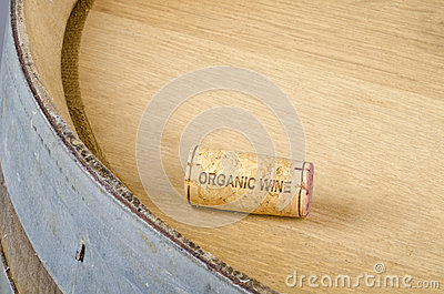 Cork Labelled Organic Wine