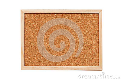 Cork memory board