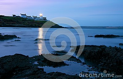 Cork s Roches Point Lighthouse at Dawn