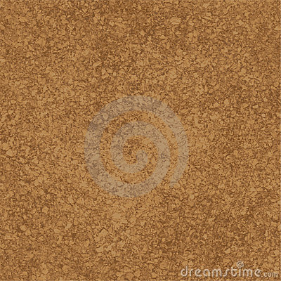Cork textuur