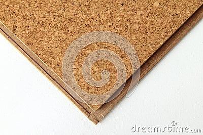 Cork tile