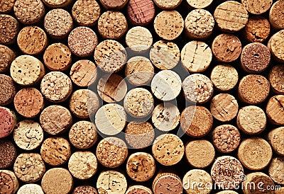 Cork van de wijn