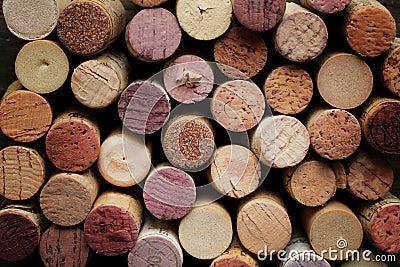 Cork wine