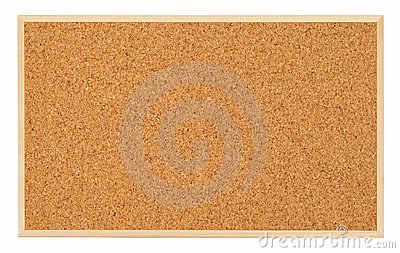 Corkboard (bulletin board)