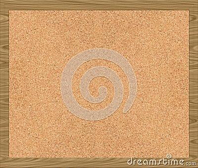 Corkboard cork noticeboard