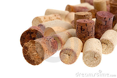 Corks from bottles guilt