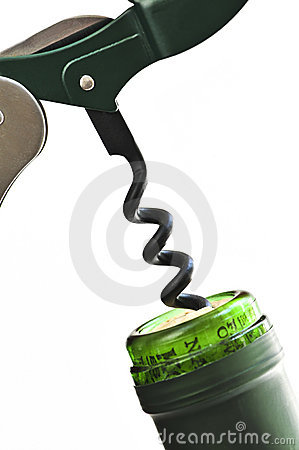 Free Corkscrew Royalty Free Stock Images - 6184519