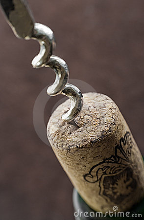 Free Corkscrew In Action Stock Images - 3664174
