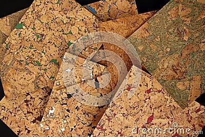 Corkwood tiles