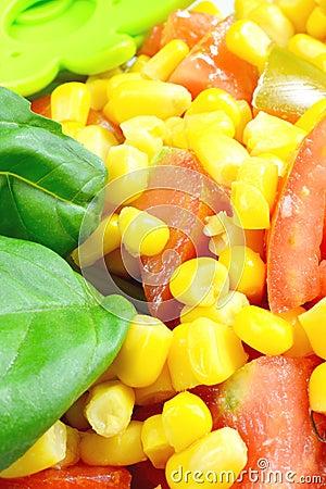 Free Corn And Tomato Salad Royalty Free Stock Image - 30967846