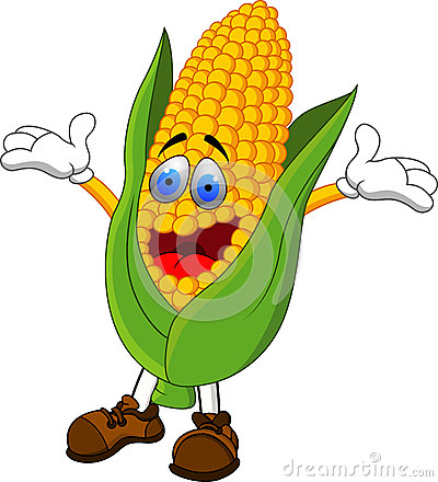 Corn cartoon