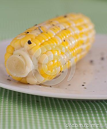 Corn on the Cob with Seasoning