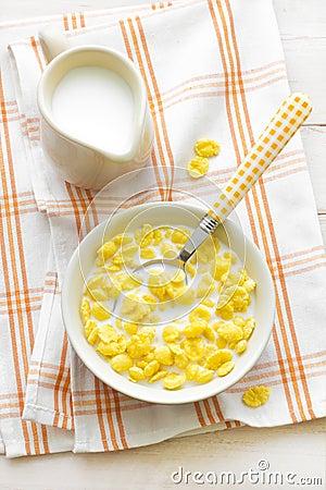 Free Corn Flakes Stock Image - 31321251