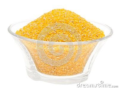 Corn meal.