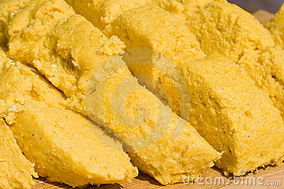 Corn Meal Porridge Stock Image - Image: 6387681