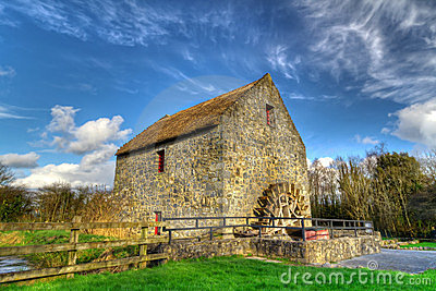 Corn mill in Bunratty Folk Park