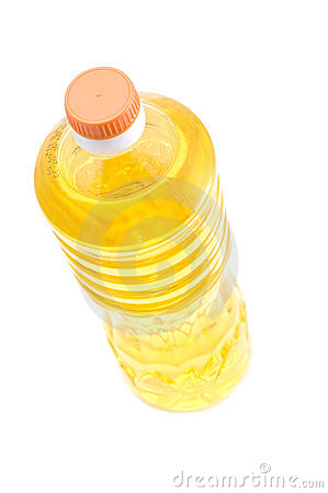 Free Corn Oil On White Royalty Free Stock Photography - 3830837