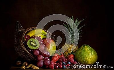 Corne d abondance de fruit