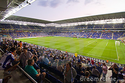 Cornella stadium (RCD Espanyol) Editorial Photography