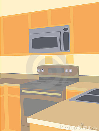 Food burns oven electric