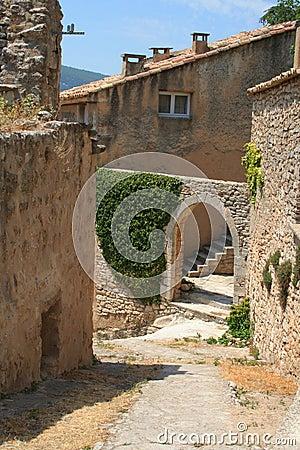 Corner in Bonnieux, France