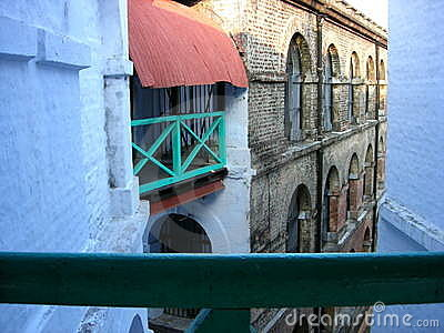 A corner in cellular jail