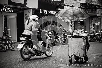 A Corner of Hanoi Editorial Stock Image