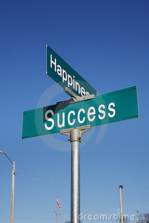 Corner of Happiness and Success