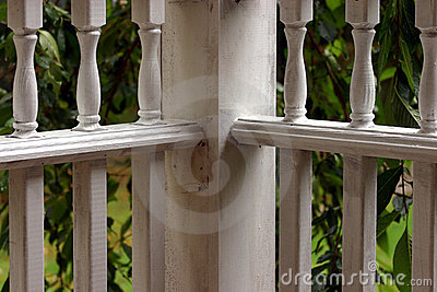 Corner Porch Rails