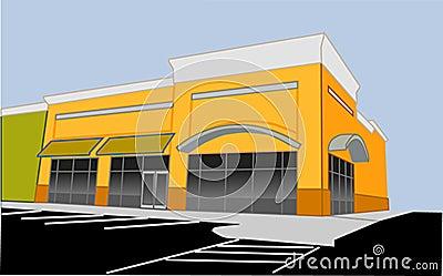 Corner Retail Store Ro...
