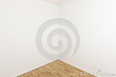Corner of a room