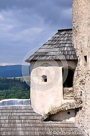 Corner tower of Niedzica Castle, Poland