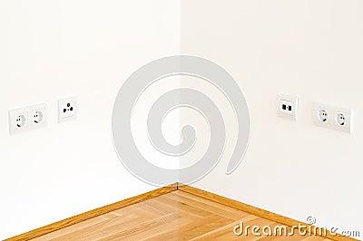 Corner wall