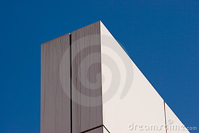 Corner of a wall