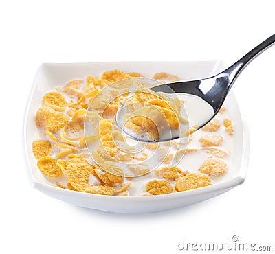 Free Cornflakes Royalty Free Stock Image - 13221186