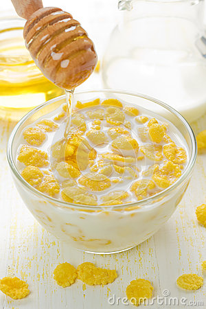 Free Cornflakes Stock Photo - 26649910