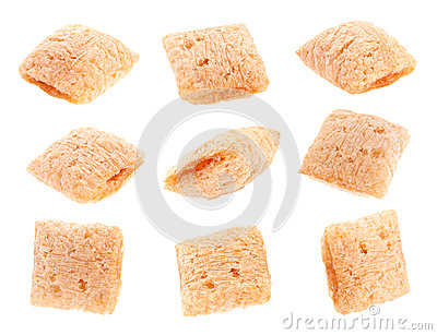 Cornflakes cube