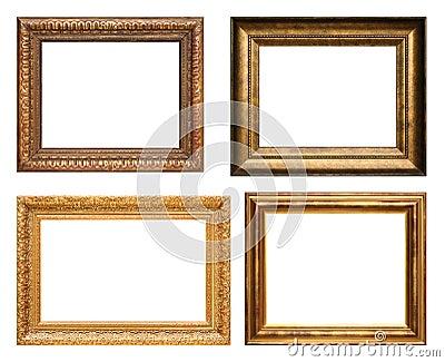 Cornici antiche fotografia stock immagine 5392662 for Cornici x foto