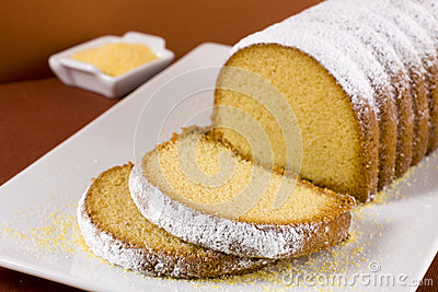 Cornmeal Cake Stock Image - Image: 34806251