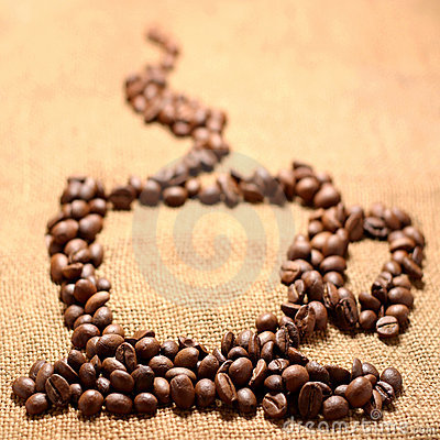 The corns of coffees