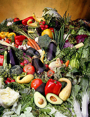 Cornucopia of vegetables