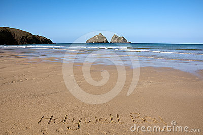 Cornwall, Holywell Bay Beach