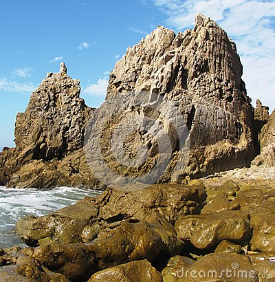 Free Corona Del Mar Geology Royalty Free Stock Images - 24952159