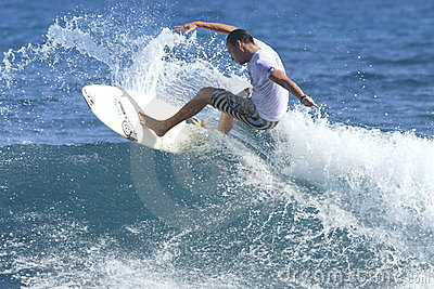Corona pro surf in action Editorial Stock Photo