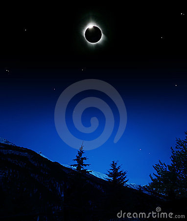 Corona of Sun Eclips 2006
