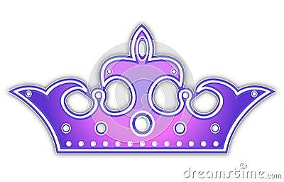 Corona violeta